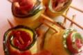 Involtini di zucchine con bresaola e mozzarella