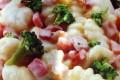 Gnocchi broccoli, taleggio e pancetta