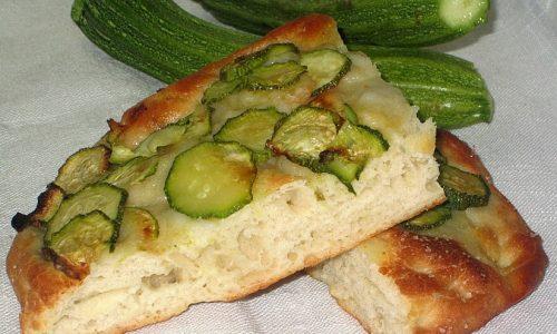 Focaccia Alle Zucchine
