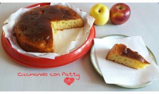 Torta mele e yogurt bianco