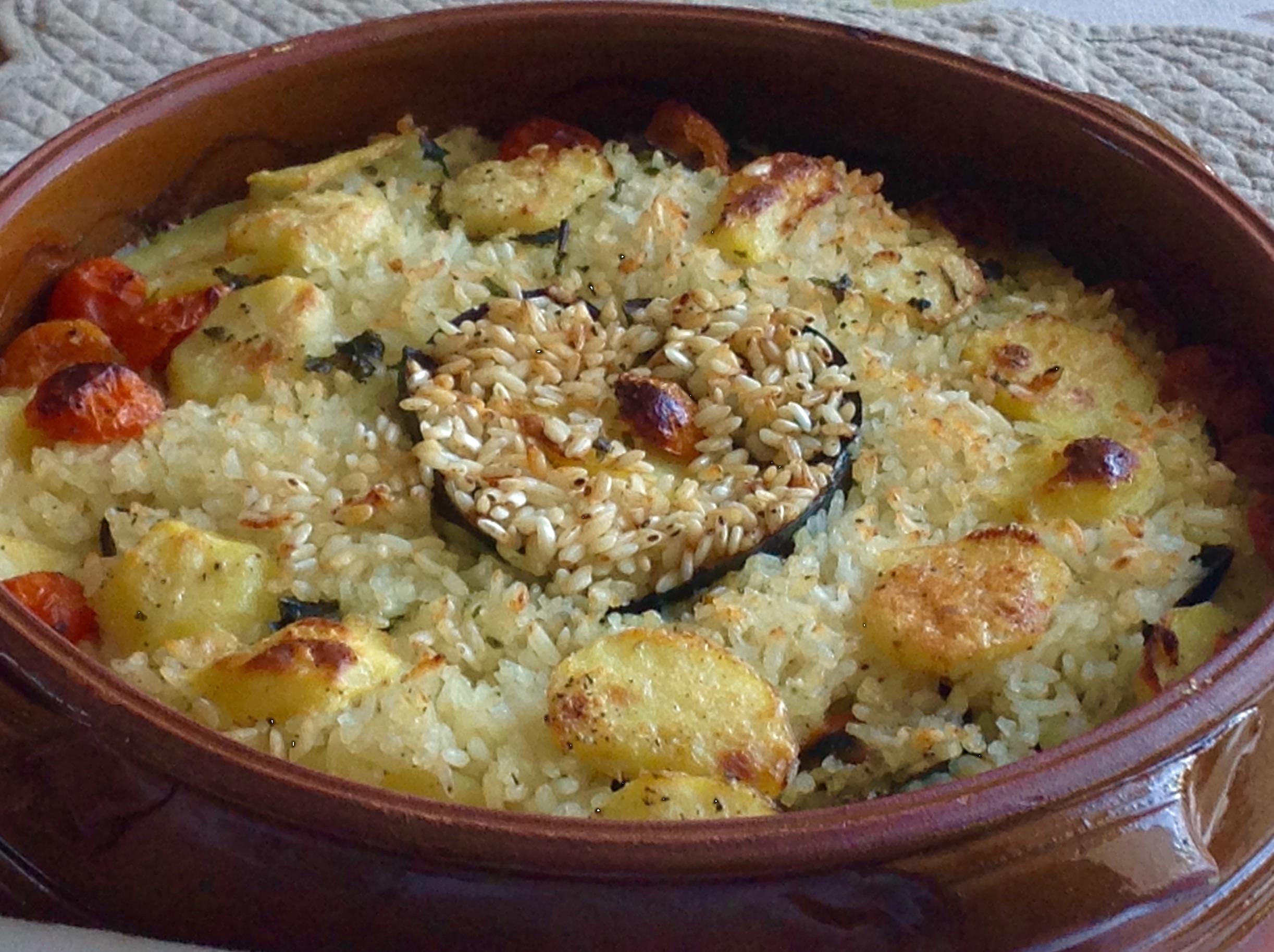 Patate riso e cozze cucinando con roberta for Piatto tipico romano