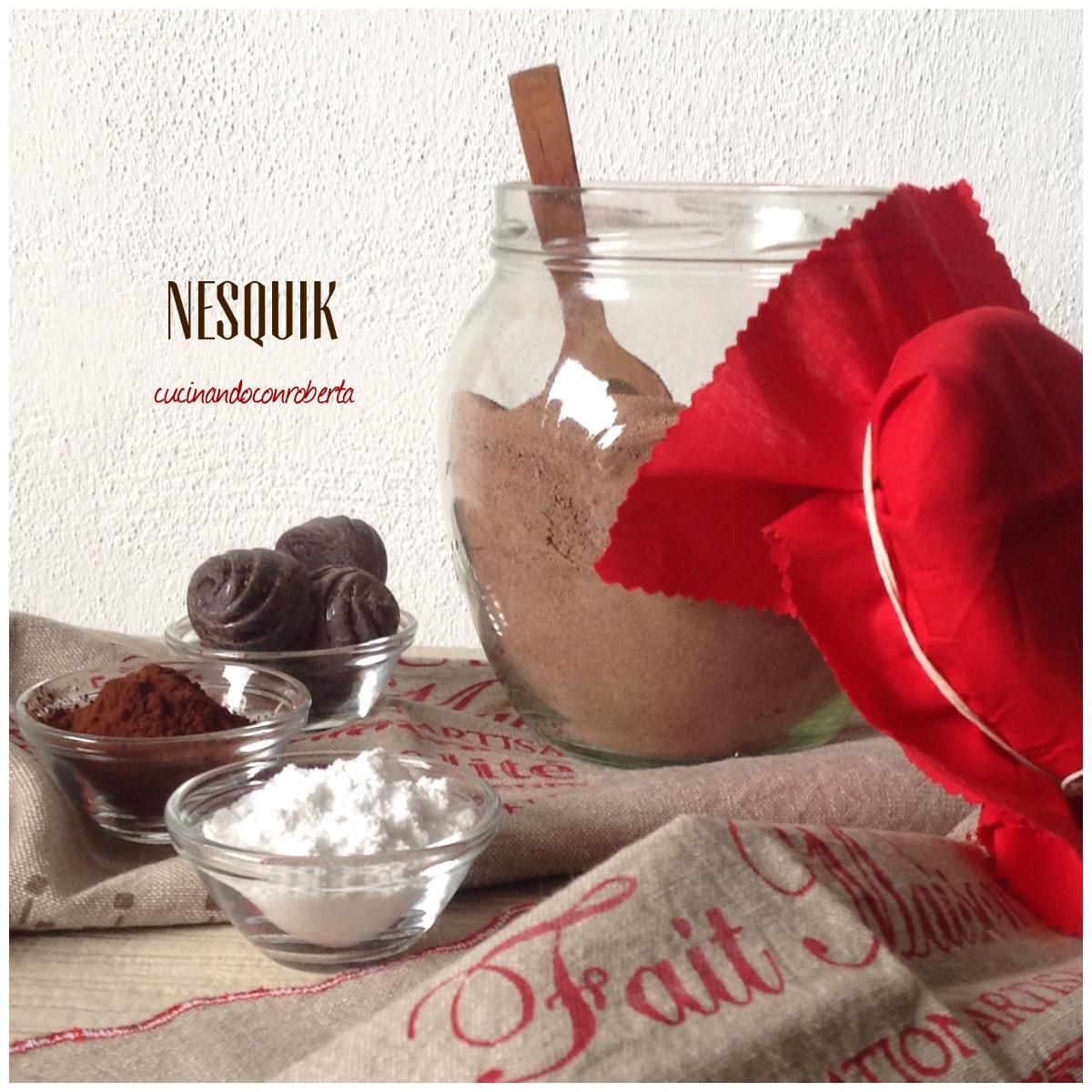 Preparato gusto Nesquik ' fatto in casa '