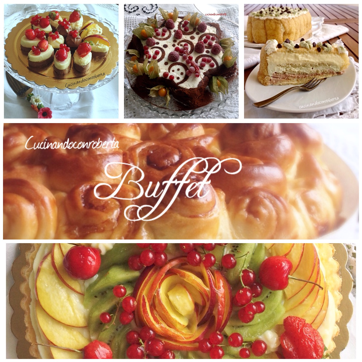 Speciale buffet per feste
