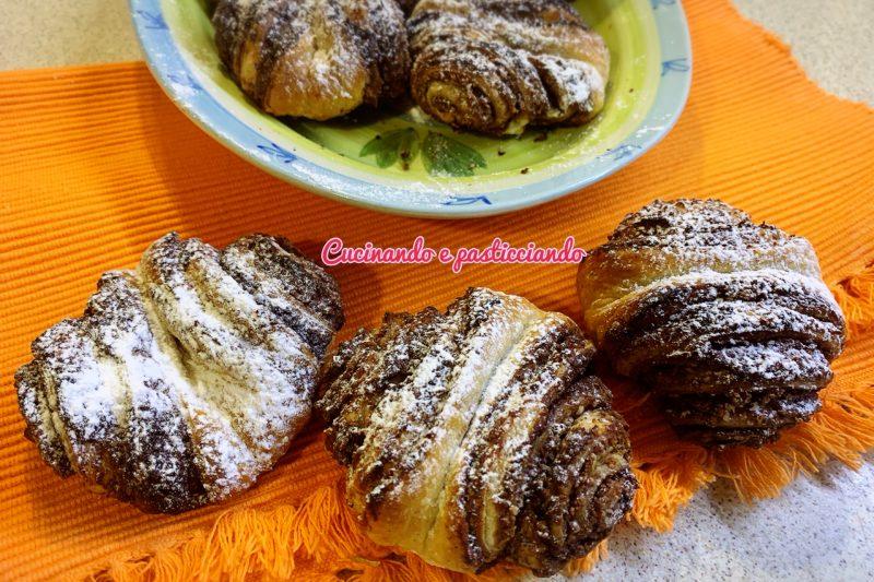 Sfogliatine cocco e  nutella