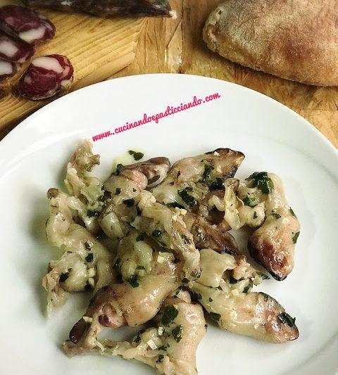 Piedini di Agnello in insalata