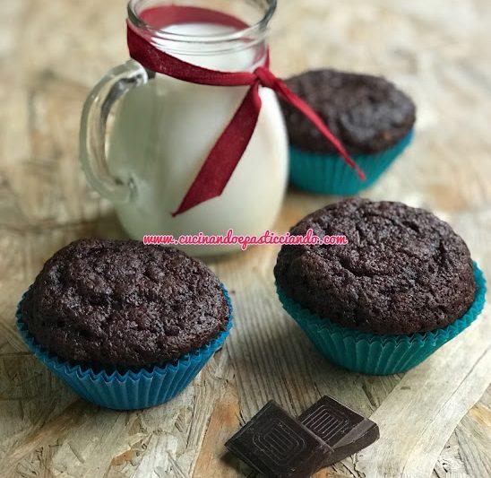 Muffins al cioccolato light