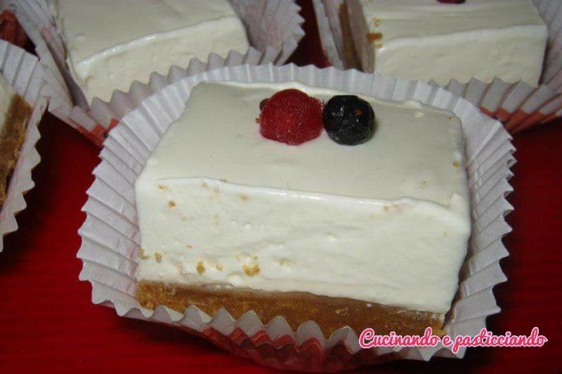 Cubotti  di Cheesecake