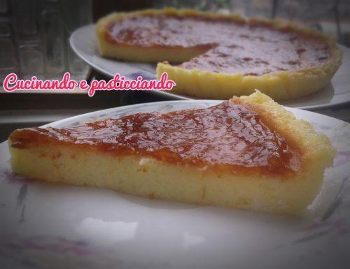 Torta mascarpone e budino