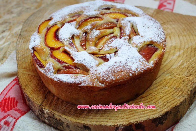 Torta Pesche e Mascarpone