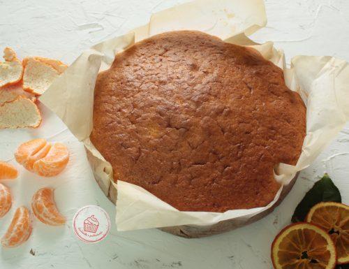 Torta con mandarini interi
