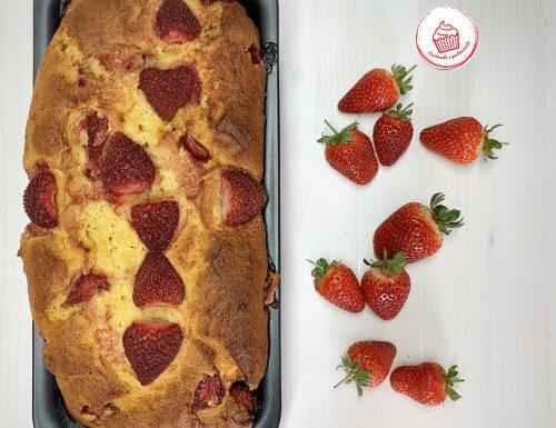 Plumcake ricotta e fragole