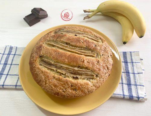 "Torta ""5 minuti"" Banana e Cioccolato"