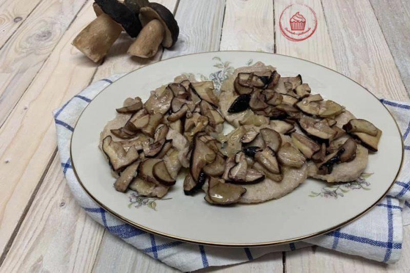 Scaloppine ai funghi porcini