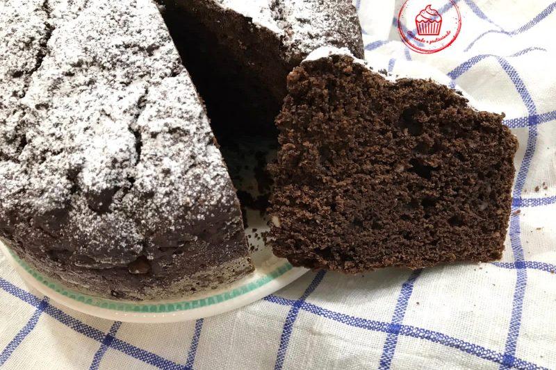 """Torta """"5minuti"""" Cioccolato e Ricotta"""