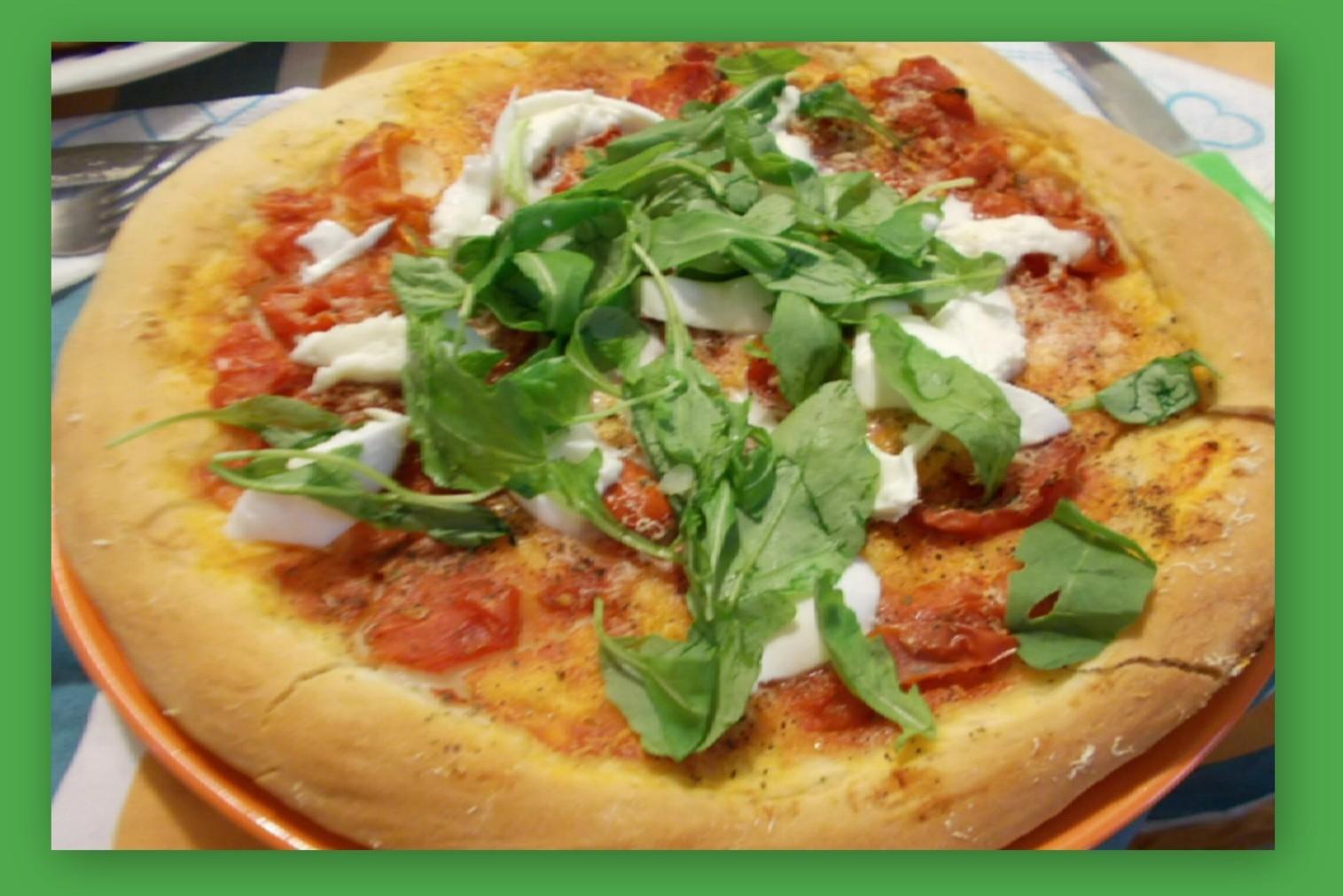 Base Pizza al Trancio - Ricetta Napoletana