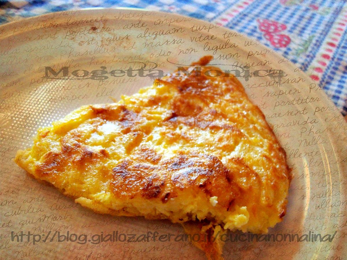 Frittata con patate ricetta veloce la cucina di nonna lina for Ricette con patate