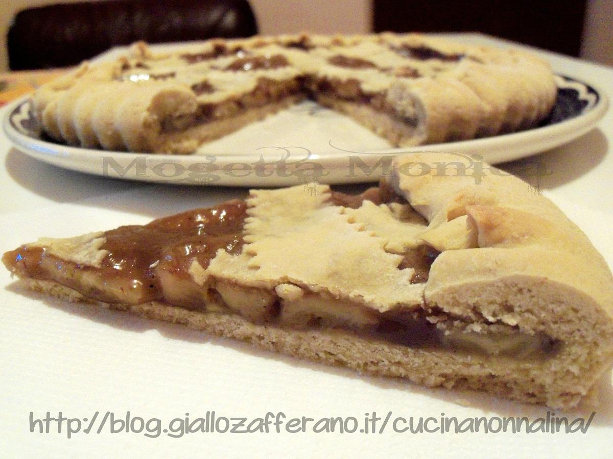 Crostata con marmellata e noci ricetta dolce la cucina for Dolce di castagne