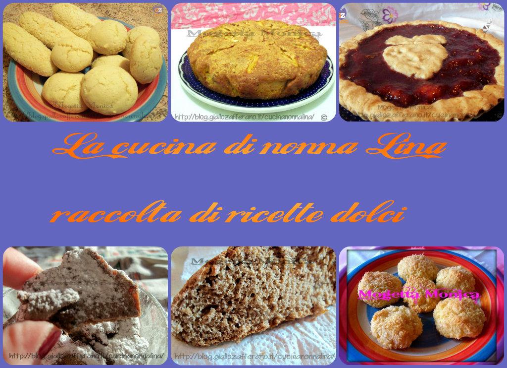 ricettario pdf gratuito ricette dolci | La cucina di nonna Lina