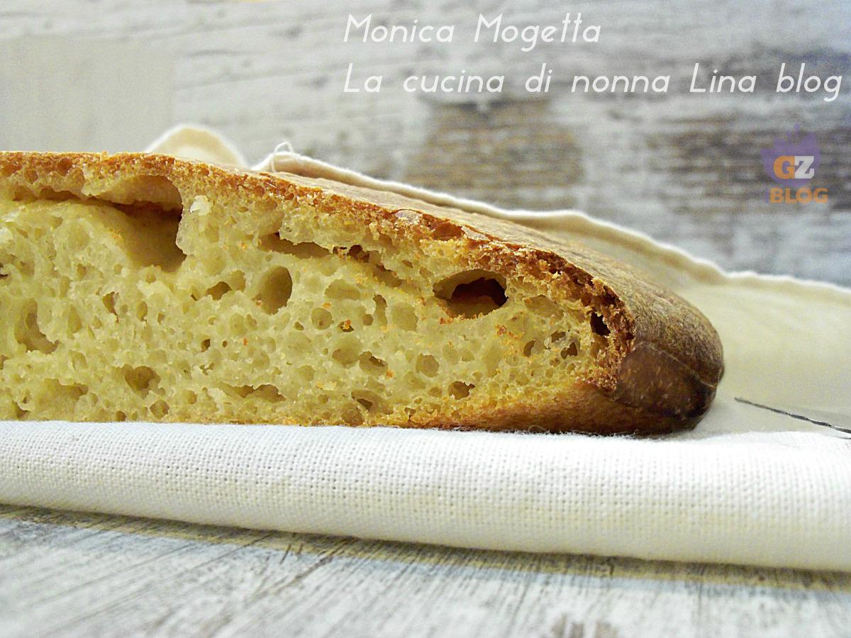 Pane con lievito madre senza impasto