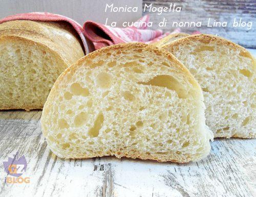 Pane morbido all' olio ricetta con lievito madre