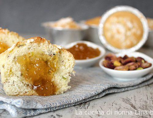 Muffin pistacchi e marmellata – senza burro