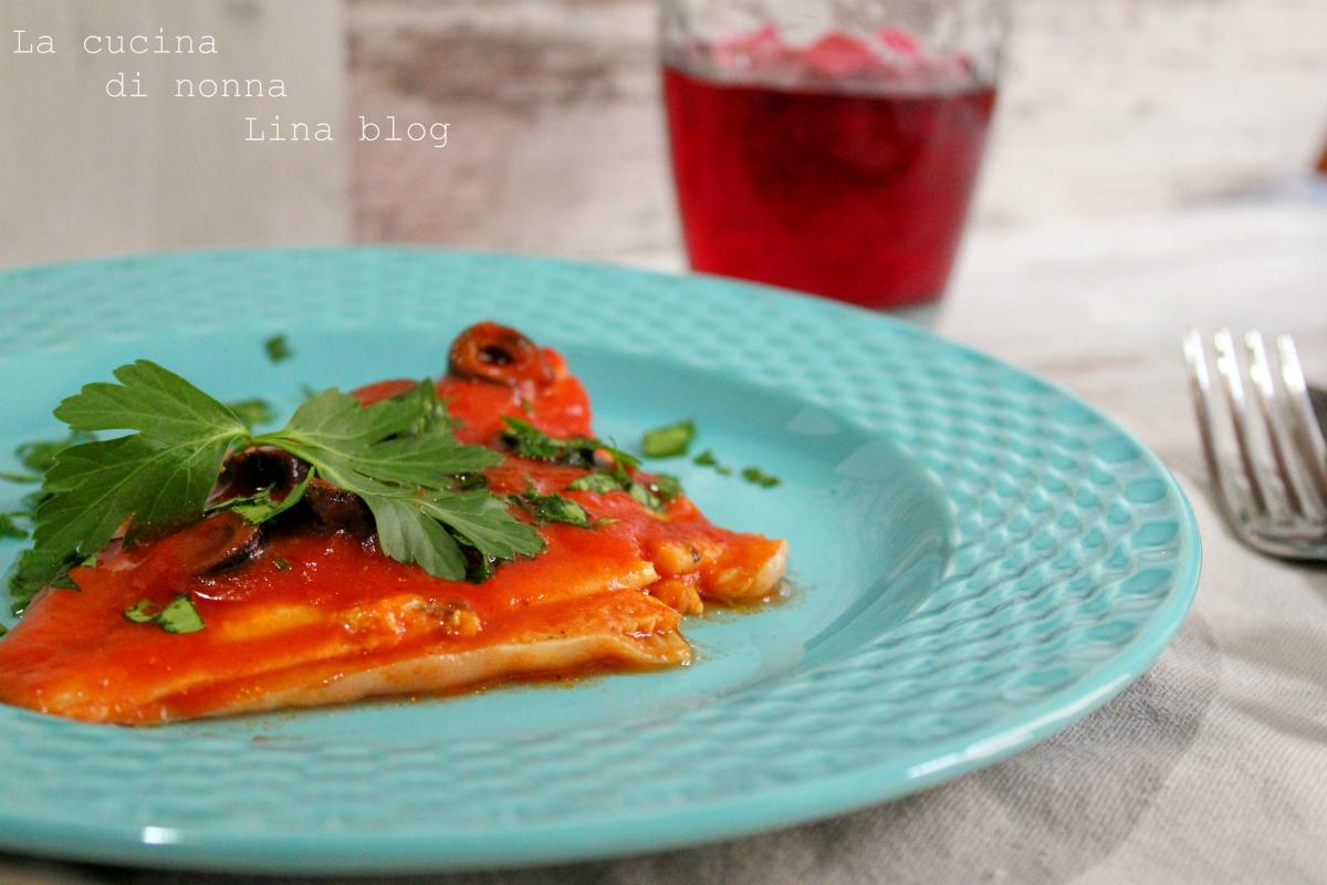 Platessa alla mediterranea ricetta di pesce facile