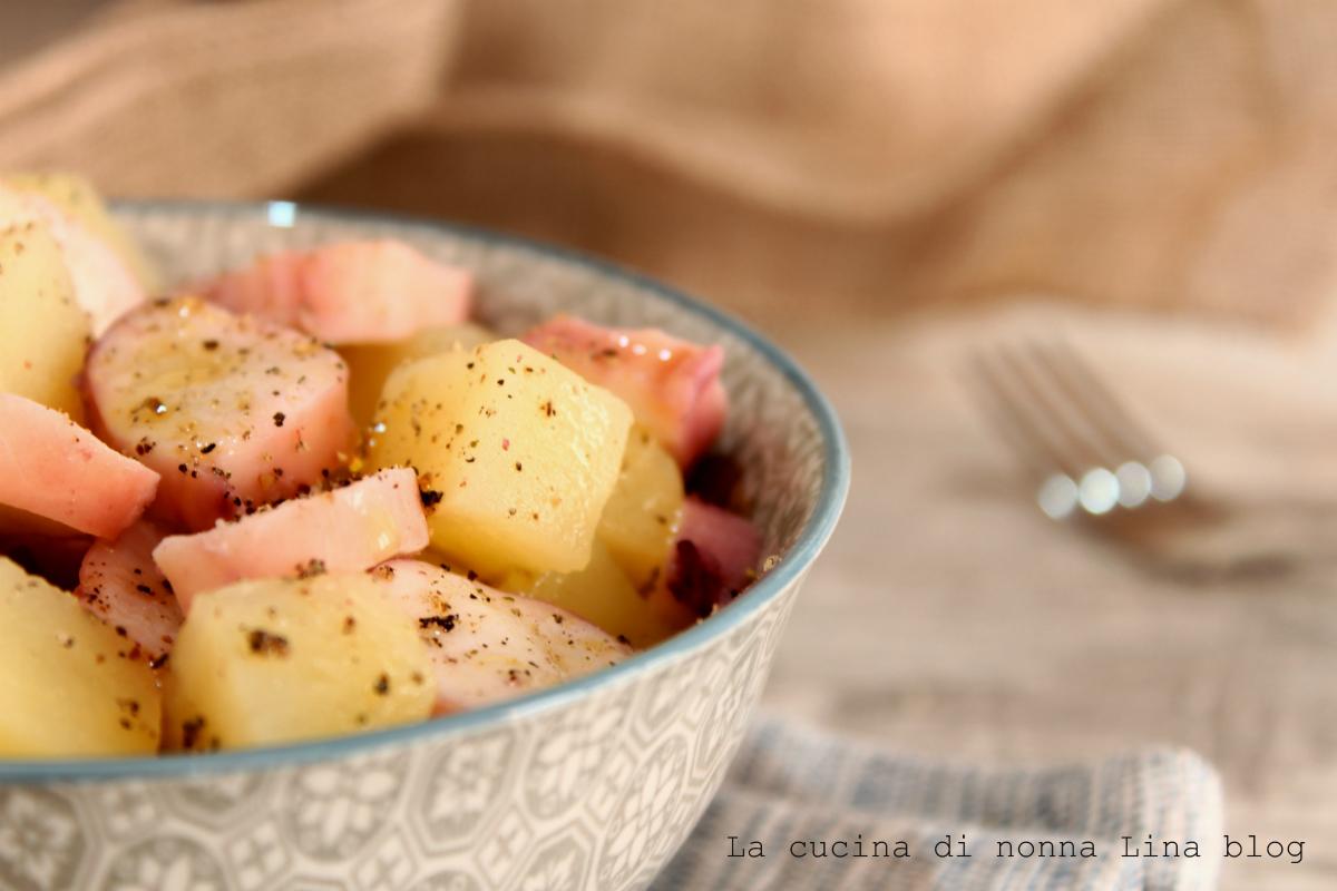Insalata totano e patate