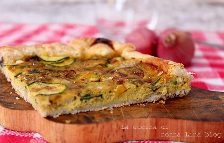 Torta salata con cipolla di Suasa e verdure