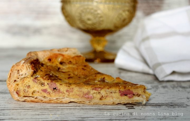 Torta salata con Simmenthal, ricetta facile