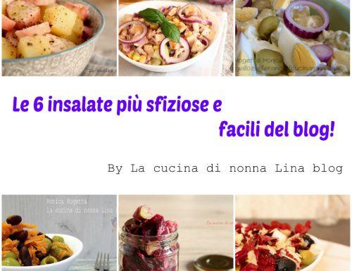 Le 6 insalate più sfiziose e facili del blog!