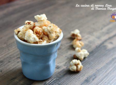 Popcorn caramellati ricetta facile