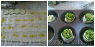 Rose di pasta sfoglia alle zucchine | La cucina di nonna Lina