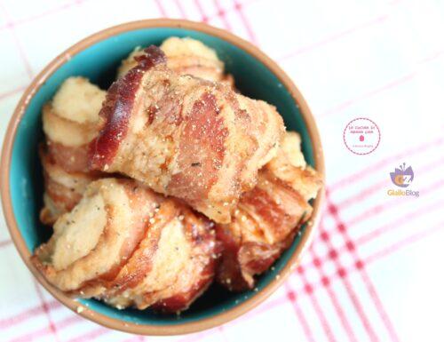 Bocconcini di pollo al bacon