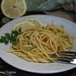 Pasta con limone