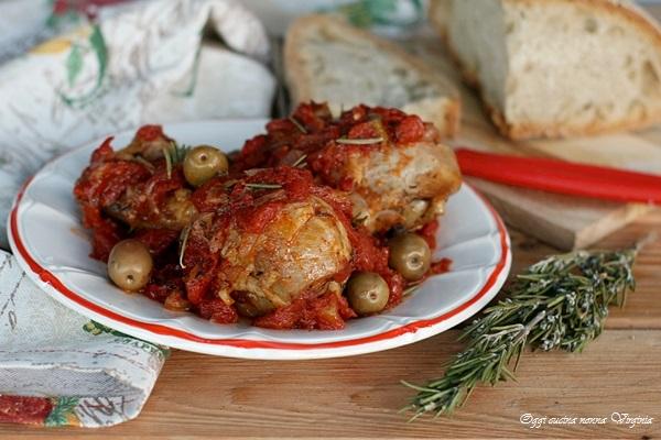 Pollo alla cacciatora,Oggi cucina nonna Virginia