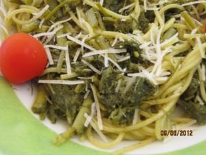 spaghetti con il finocchietto selvatico