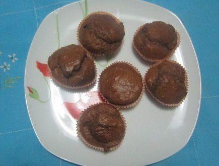 Muffin 'dietetici' con cocco e cioccolato