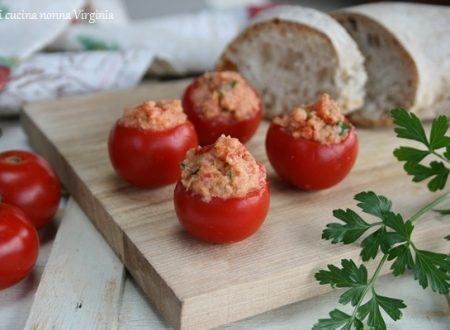 Pomodorini crudi ripieni