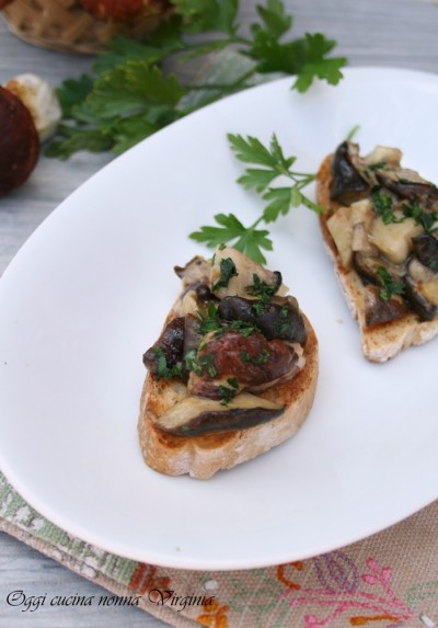 pane e funghi