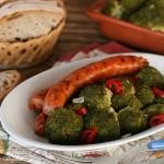 Broccoli affogati e salsiccia,Oggi cucina nonna Virginia