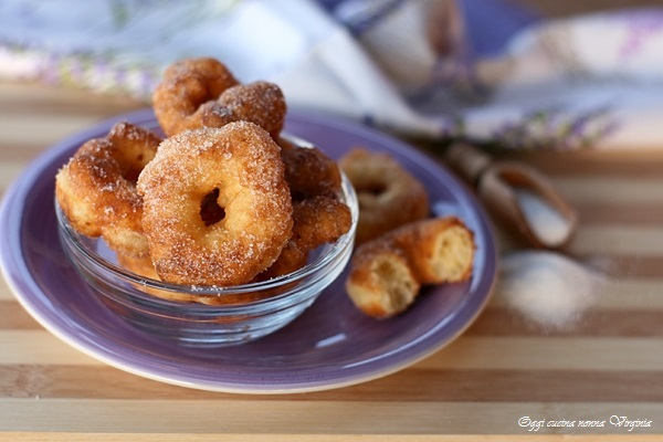 Zeppole dolci calabresi con patate