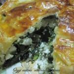 Sfoglia broccoli e castelmagno,ricetta buffet