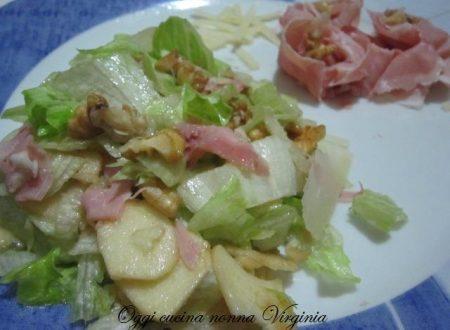 Insalata deliziosa,ricetta vegetariani