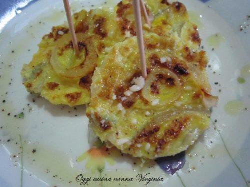 Frittata di cipolle rosse,ricetta Secondi