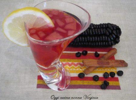 Chicha morada,ricetta Frutta