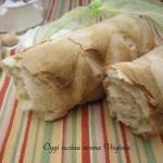 filone di pane bianco