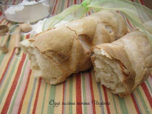 Filone di pane bianco, ricetta Lievitati