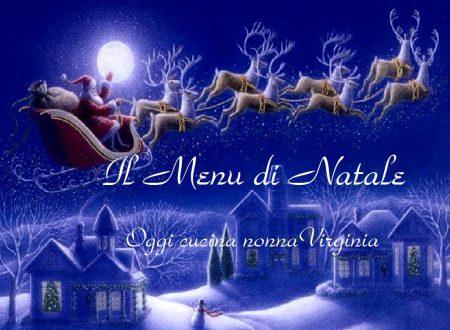 Menu di Natale, ricetta Menu