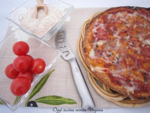 Pizza semi-integrale,ricetta Lievitati