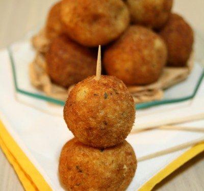 Crocchette di patate finger food